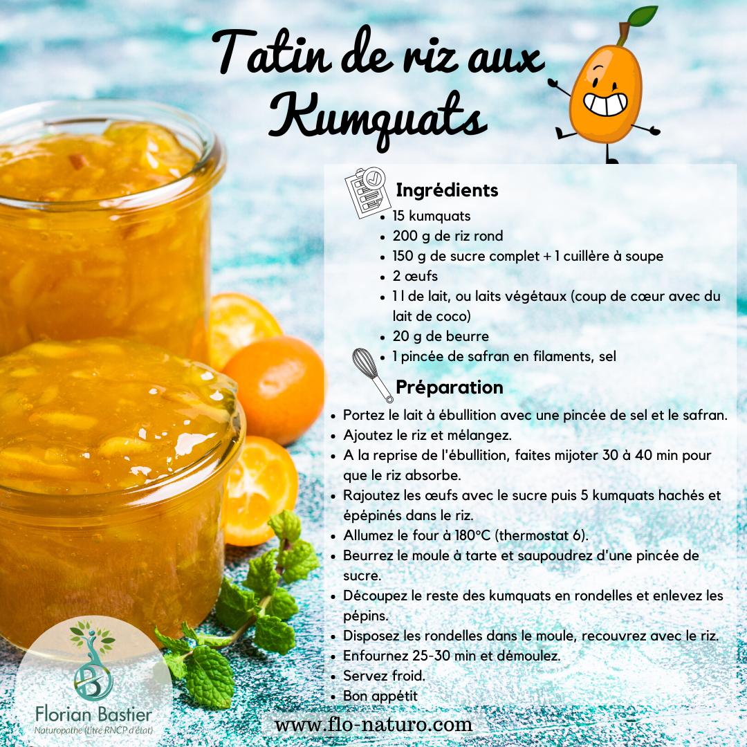 Le kumquat recette