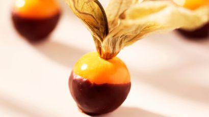 Physalis au chocolat